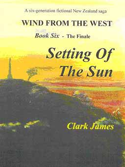 Setting of the Sun  by Clark James